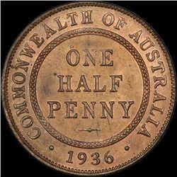1936 Halfpenny