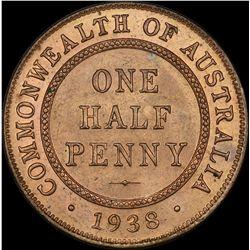 1938 Halfpenny