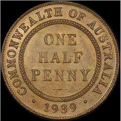1939 Halfpeny
