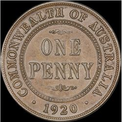 1920 Double Dot Penny