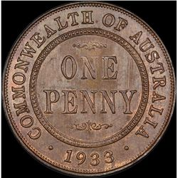 1933/32 Overdate Penny