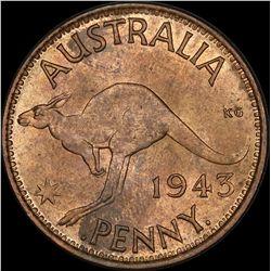 1943 Bombay Penny