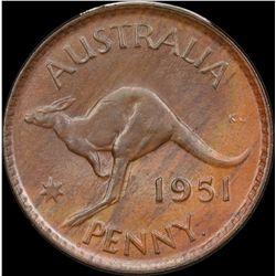 1951 Perth Penny