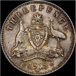 1919 Threepence
