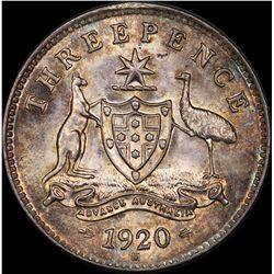 1920 Threepence