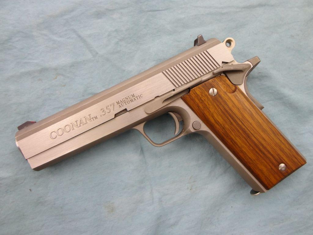 Coonan Model B 357 Mag  1911 style Pistol