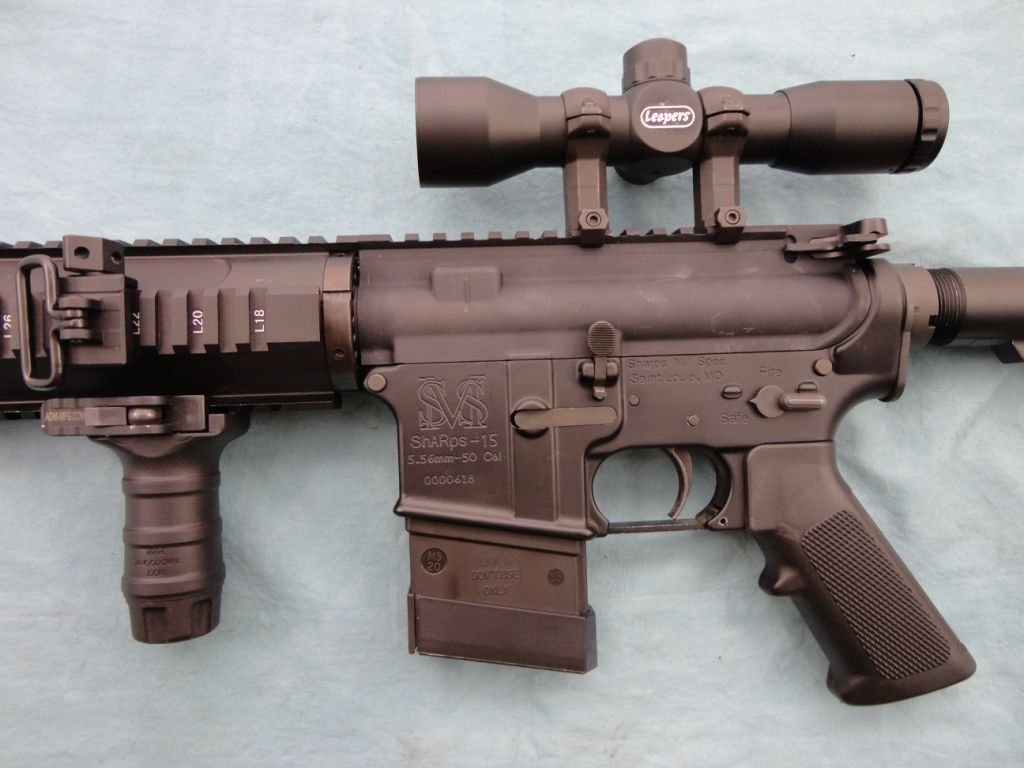 Sharps Rifle Co  AR-15 in 300 Blackout
