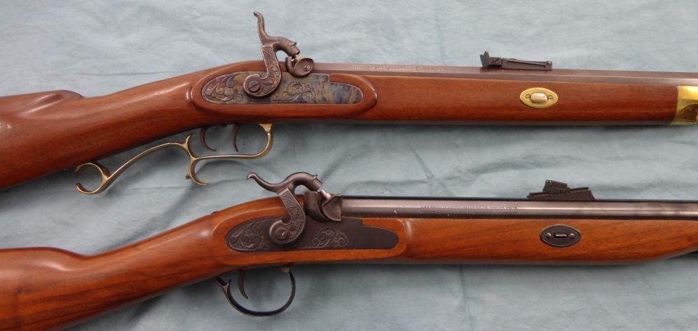 Pair of Thompson Center Black Powder Rifles
