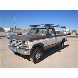 1983 Ford F250XLT 4x4 Pickup Truck