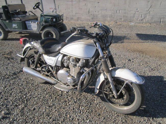 1990 Kawasaki KZ1000 Police Model Motorcycle
