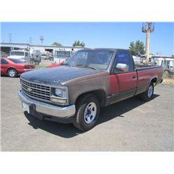 1990 Chevrolet 2500 Cheyenne Pickup Truck