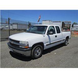 2001 Chevrolet 1500 Silverado Pickup Truck