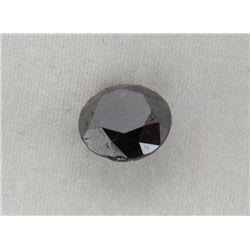 5.49 Carat Black Opaqu-A! Clarity Loose Diamond
