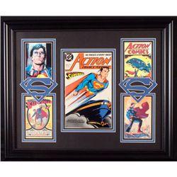 Superman# 617 Comic Book 1988 + 4 Pics Custom Framed