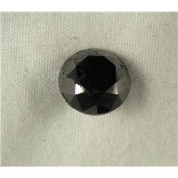 3.05 Carat Loose Black Diamond Opaque-A! Clarity