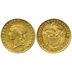 Popayan, Colombia, 10 pesos, 1859.