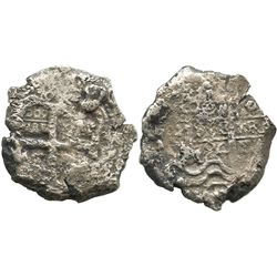 Potosi, Bolivia, cob 8 reales, 1724Y.