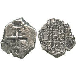 Potosi, Bolivia, cob 4 reales, 1738(M).