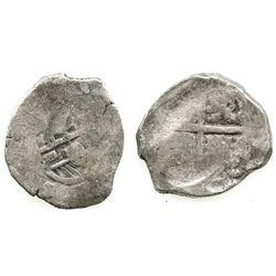Spain (mint uncertain), cob 8 reales, Philip IV, assayer not visible.