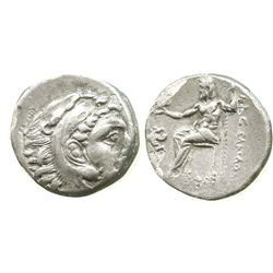 "Kings of Macedon, AR drachm, Alexander III (""the Great""), 336-323 BC, uncertain Asia Minor mint, str"