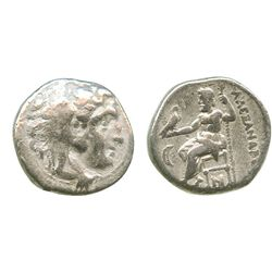 Kings of Macedon, AR drachm, Antigonos I Monophthalmos as Strategos of Asia, 320-306/5 BC, or as kin