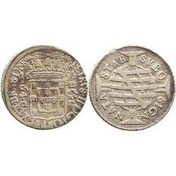 Brazil (struck in Lisbon), 640 reis, 1699.