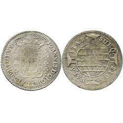 Brazil (Bahia mint), 640 reis, 1809-B.