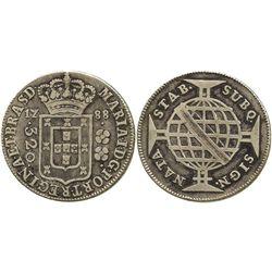 Brazil (Bahia mint), 320 reis, 1788.