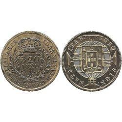 Brazil (Rio mint), 320 reis, 1820-R.