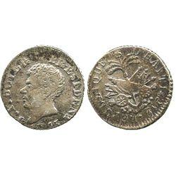 Haiti, 6 centimes, AN15 (1818), Boyer.