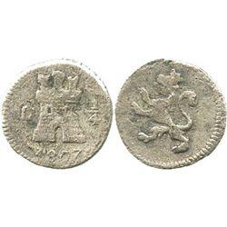Lima, Peru, 1/4 real, 1807.