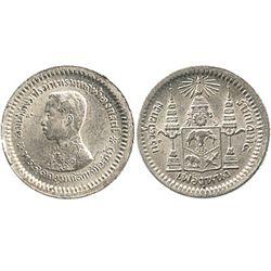 Thailand, 1/8 baht, Rama V (1876-1900).