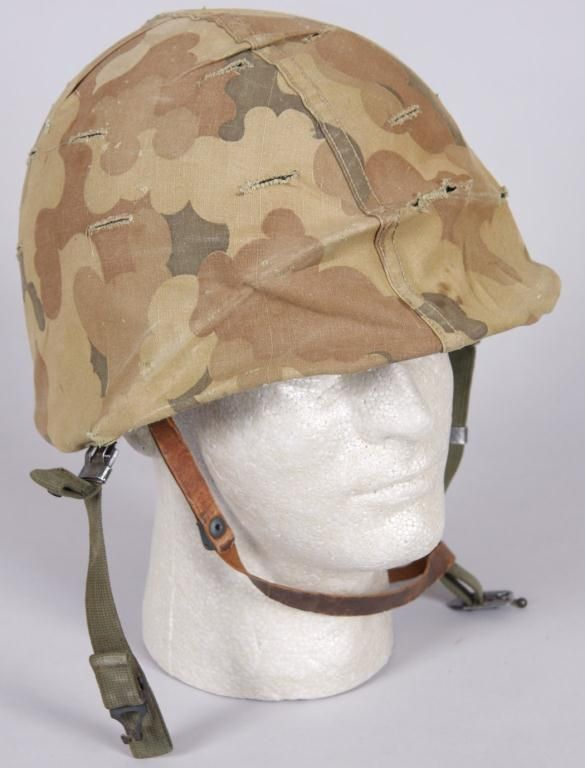 Korean War US HelmetComplete with cover, liner, straps, and