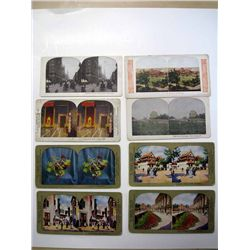 Stereoscope Cards Lot of 14.
