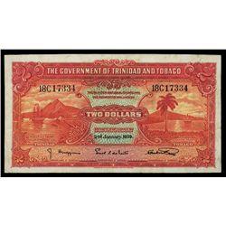 Government of Trinidad & Tobago, 1939 Issue.