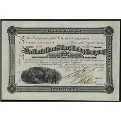 North Horn Silver Mining Co., Issued Stock.