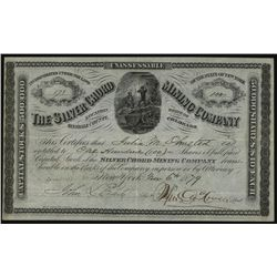 Silver Chord Mining Co., Issued Stock.