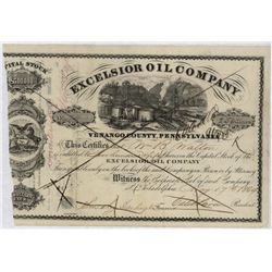 Excelsior Oil Co., Issued Stock.
