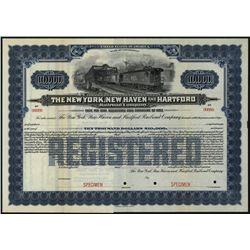 New York, New Haven and Hartford Railroad Co., Specimen Bond.