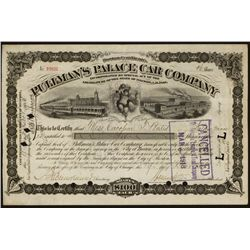 Pullman's Palace Car Co., Issued Stock.