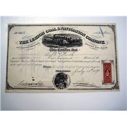 Lehigh Coal & Navigation Co., Issued Stock.