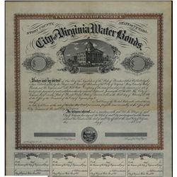 City of Virginia Water Bonds Specimen Bond.