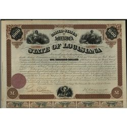 State of Louisiana, Issued Bond.