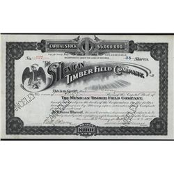 Mexican Timber Field Co., Issued Stock.