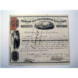 Boston and Providence Rail Road Corp., Issued Stock.