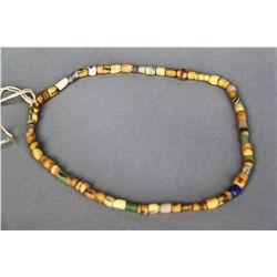 Antique Native American Indian Trade Bead Necklace (Multi Color Y…