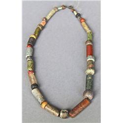 Antique Native American Indian Trade Bead Necklace (Multi Color) …