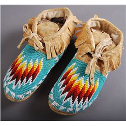 Native American Indian Beaded Moccassins …