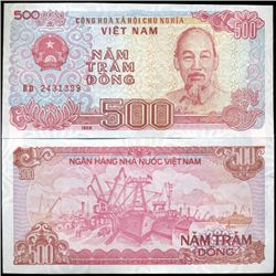 1988 Vietnam 500 Dong Crisp Uncirculated (CUR-06266)