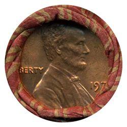 1975 Linc 1c BU RARE UnOpened Bank Roll 50 GEMS (COI-4814)